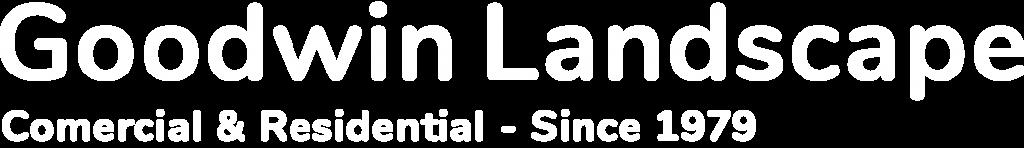 White Text Logo | Goodwin Landscape Naples, Florida