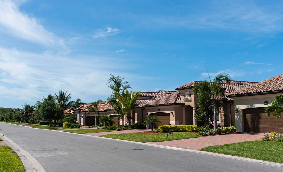 Gated Community Homes | Goodwin Landscape Naples, Florida