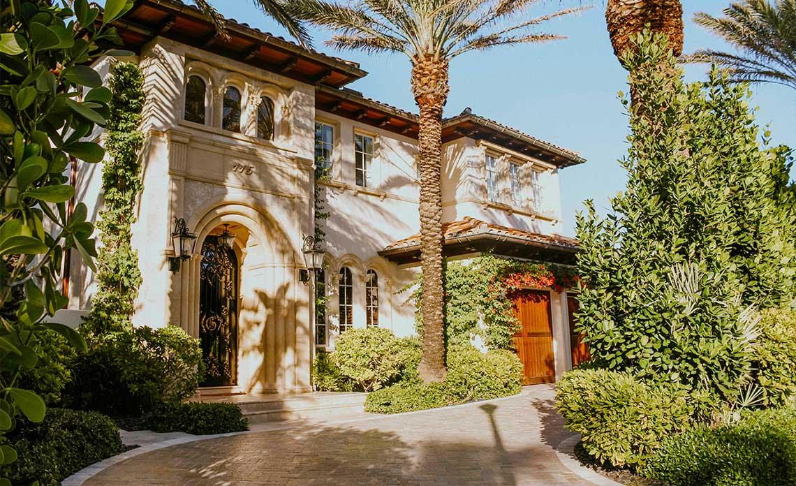 Florida Home Façade | Goodwin Landscape Naples, Florida